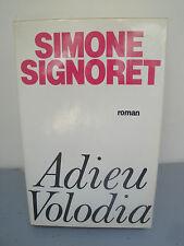 Livre - Adieu Volodia - Simone Signoret - 1985