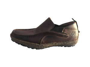 Timberland Men's Limited Collection Slip-On Shoes (Dark Brown) (UK 10)  RRP £235