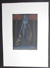 Ernst Fuchs, Flora Oculi, Farb-Radierung , num. +  handsigniert