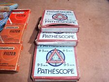 "Vintage Pathescope 9.5mm Cine Film Reel, ""Boxed 30ft""  Walt Disney Prods"