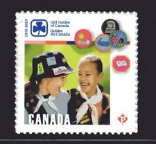 2010 Canada SC# 2402 - Girl Guides of Canada  - from booklet M-NH