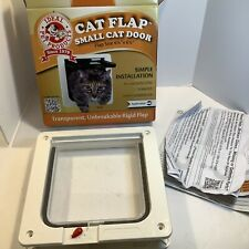 "Ideal Spf Pet Products Cat Flap Small Cat Door Locking 6 1/4"", Complete"