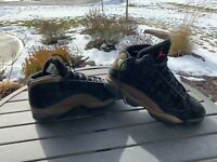 Nike Air Jordan 13 Retro Olive Black Gym Red Size 9.5 414571-006