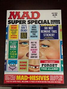 MAD Magazine Super Special #16 (1975) Stickers intact High Grade NM 9.4