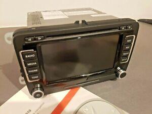 Volkswagen RNS 510 rns510 navigationssystem gps SSD led bildschrim