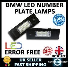 BMW 1 SERIES E82 E87 WHITE SMD LED NUMBER PLATE LAMP LIGHT BULB UPGRADE UNITS