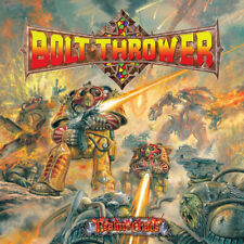BOLT THROWER - REALM OF CHAOS - LP REISSUE BLACK VINYL NEW SEALED 2017