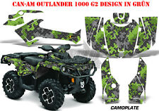 AMR RACING DEKOR KIT ATV CAN-AM OUTLANDER STD & XMR/MAX GRAPHIC KIT CAMOPLATE B