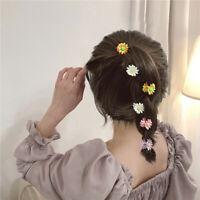 Small Daisy Flowers Hairpin Pan Hair Claw For Women Hair Accessories Headdress/*