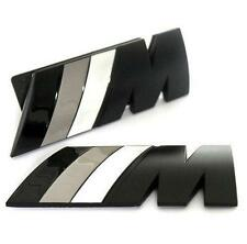 BMW M Tech Sport Power Matt Nero Verde Griglia Frontale Emblem Badge Inc Kit di fissaggio