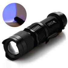 LED CREE Q5 Flashlight Taschenlampe Handscheinwerfer Torches Blau 180LM mit Clip