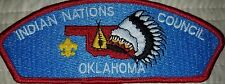 Indian Nations Council council shoulder patch csp s-3 Tulsa, Oklahoma mint BSA