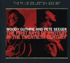 Woody/Pete Seeger Guthrie - The First Rays Of (NEW 2 x CD)