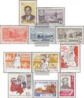 Sowjet-Union 2487-2496,2499 (kompl.Ausg.) gestempelt 1961 Sondermarken