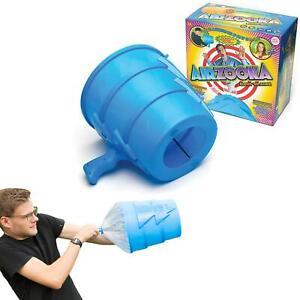 Air Zooka Fun Launcher Blasting Cannon Blower Shooting Blowing Toy Gun Kid Adult