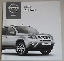 NISSAN X-TRAIL 2012 RANGE TECH SPECS CAR BROCHURE TEKNA ACENTA N-TEC+ 2.0D TURBO