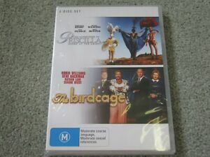 Priscilla + The Birdcage - 2 Disc - Brand New & Sealed - Region 4 - DVD