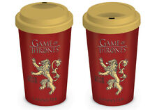 TRAVEL MUG GAME OF THRONES HOUSE LANNISTER HEAR ME ROAR BRAND NEW AND BOXED