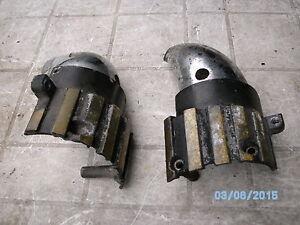 yamaha vmax v-max vmx1200 rear exhaust heat shields down pipes   box 259