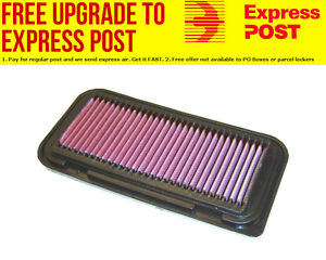 K&N Replacement Panel Filter Suit 1999-2013 Toyota Echo & Yarris