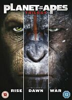 Planet of the Apes Triple [DVD] [2017][Region 2]