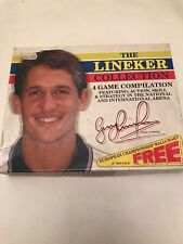 Retro Vintage Rare Atari ST The Lineker Collection 4 Game Collection Football