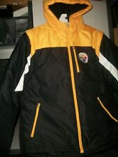 Outerstuff NFL Youth Pittsburgh Steelers Solid Packaway Puffer Jacket