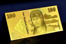 "★★ AUSTRALIE / AUSTRALIA : BILLET POLYMER  "" OR "" DU 100 DOLLARS (type 1980)  ★"