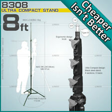 Compact Light Stands Tripod Photo Studio Video Photography Linco New 50041