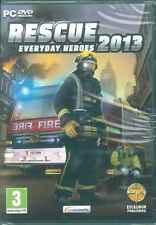Rescue 2013, Everyday Heroes, Fire Fighting Simulation, PC Simulator Sim Game
