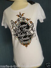 CRIMINAL CLOTHING TEE SHIRT GRAPHIC TEE TAILLE L 42/44 BLANC NEUF AVEC ETIQUETTE