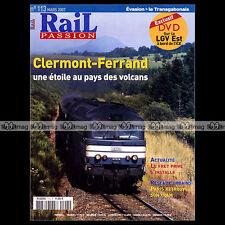 RAIL PASSION N°113 LIGNE T3 DEPÔT DE CLERMONT TRANSGABONAIS VAL D'AMOUR CC 72069