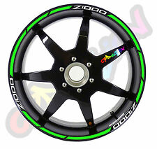 Strisce adesive per cerchi moto Z1000 Z 1000 KAWASAKI  strip sticker tuning