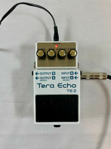 Boss Tera Echo/Reverb Stereo Pedal - Used - Good Condition