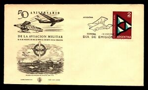 Argentina - 50th Anniversary of Military Aviation / FDC  -   Lot 0721506
