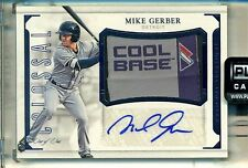Michael Mike Gerber #1/1 2016 National Treasures Auto Jersey Tag Patch Card #1/1