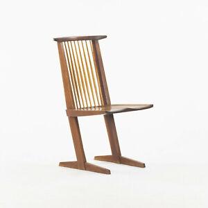 1964 Original George Nakashima Conoid Dining / Side Chair in PA Black Walnut