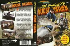 Hunting Jim Shockey Moose Mayhem Watch Rutting Bulls Clash DVD NEW Ships Fast