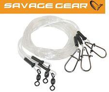Savage Gear Regenerator Trace 50cm 1,0mm 25kg - 3 Raubfischvorfächer