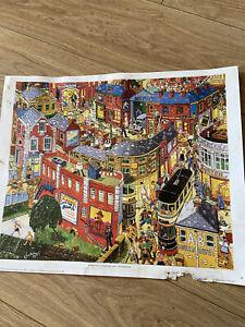 Joe Scarborough Print Hillsborough Corner - Sheffield