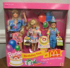 NEW 1993 BARBIE BIRTHDAY FUN AT MCDONALDS GIFT SET - STACIE & TODD  NRFB -SEALED