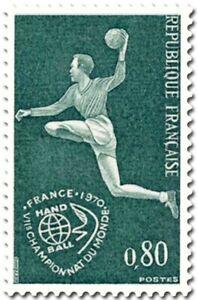 EBS France 1970 World Handball Championship 1629 MNH**