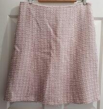 Ladies Size 14 PINK Woollen look skirt - Table Eight
