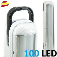 Linterna trabajo LED lampara recargable camping coche reparacion taller 100 LED