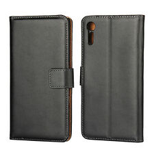 For Sony Xperia XZ Case Genuine Leather Flip Cover Wallet Case for Xperia XZ