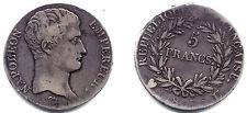 NAPOLEON I er 5 FRANCS 1807 TURIN