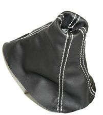 PELLE CAMBIO PER FOCUS 2012 NEW MODEL COLORE NERO CUCITURE GRIGIE CUFFIA/GAITER