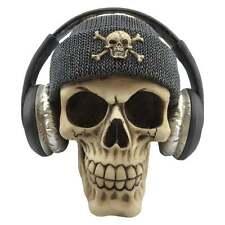 New Dead Beat Grey Black Skull Head Gifts Gothic Figure Ornament Art Figurine