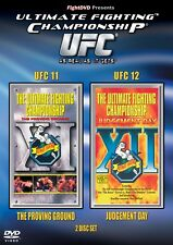 NEW & Sealed UFC 11 & 12 DVD - Double DVD