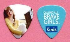 Taylor Swift Keds Calling All Brave Girls Guitar Pick 2013